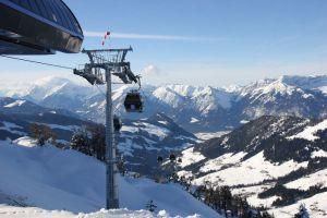 Seit dem letzten Winter verbindet Alpbach und das Hochtal Wildschönau diese Gondelbahn. Damit begann eine neue Zukunft dieser Skiregion.