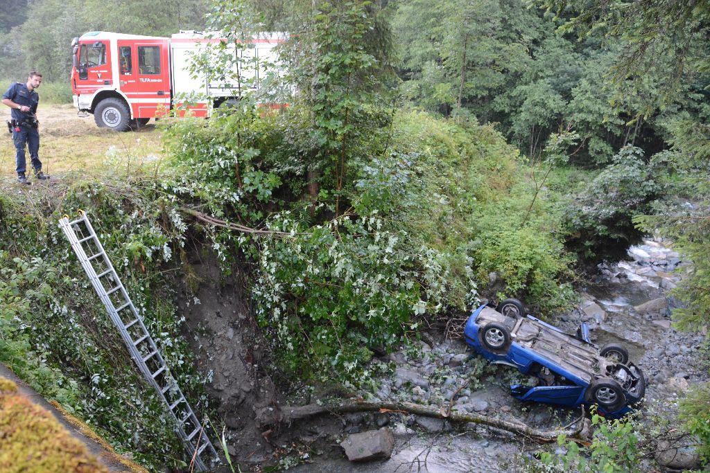 Wildschšnau-Auffach-tšdlicher Verkehrsunfall-fotocredit : ZOOM-TIROL