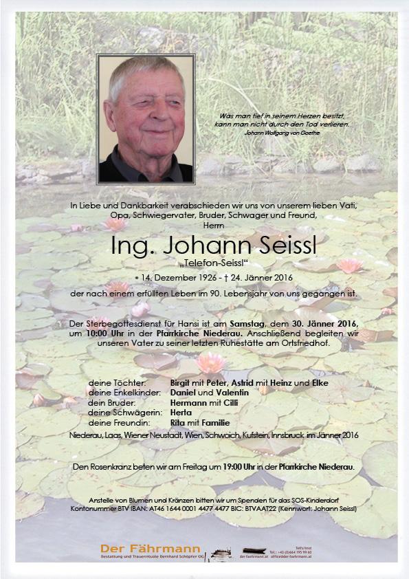 Johann Seissl
