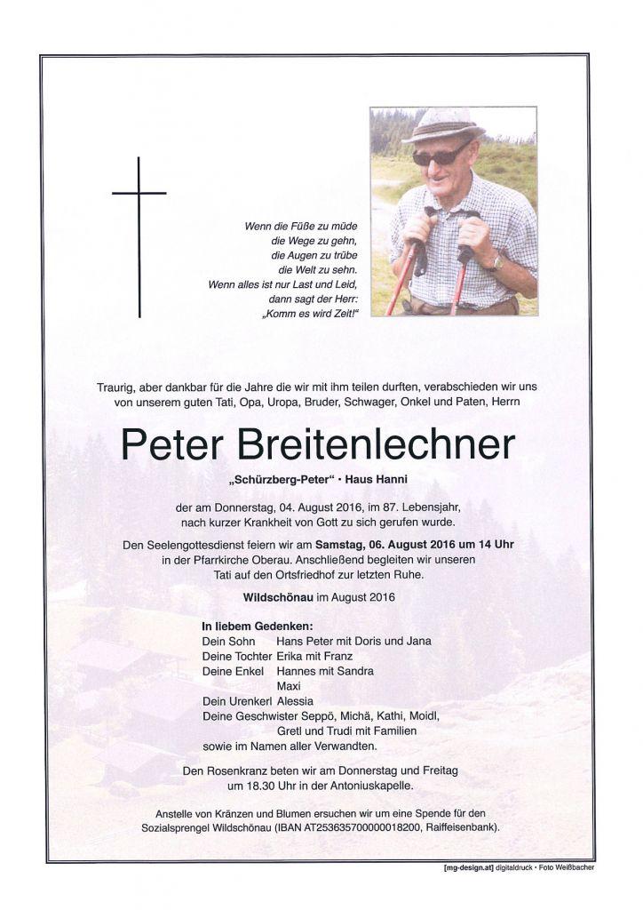 Peter Breitenlechner