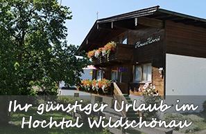 Ihr günstiger Urlaub im Hochtal Wildschönau